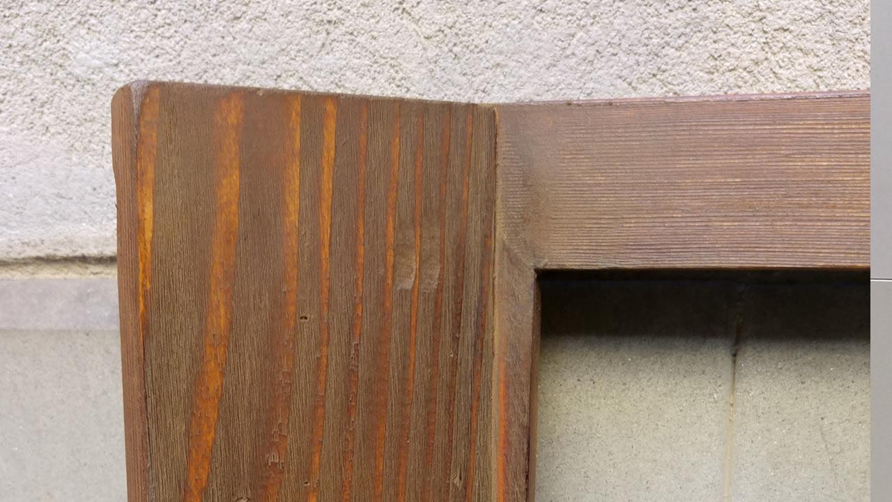 Cornice a finestra - Dettaglio