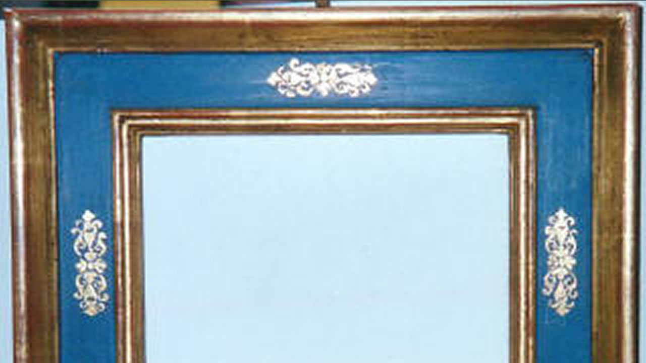 Cornice in stile cassetta del 500 - Dettaglio