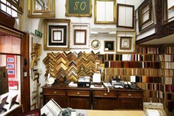 Interno negozio - Grassi Carlo Milano