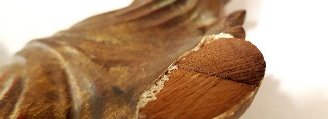Dettaglio restauro cornice